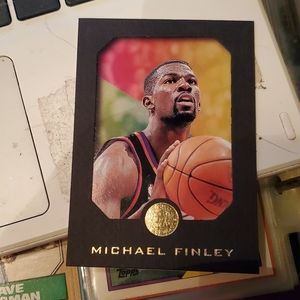 Michael finley basketball card